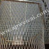 ステンレス鋼ワイヤーロープのネット階段網