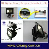 10W PIR 운동 측정기 LED 플러드 빛 WiFi 감시 카메라