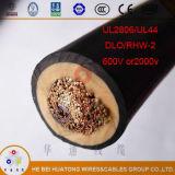 UL2806 het ingeblikte Lage Voltage van de Kabel van Dlo /Rhw-2 van het Koper