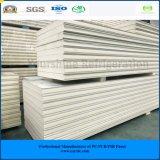 ISO, SGS는 50mm ~ 서늘한 방 찬 룸 냉장고를 위한 250mm 직류 전기를 통한 강철 PIR 샌드위치 위원회를 승인했다