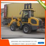 Cargador de la rueda de la maquinaria de construcción Zl15f con el motor montado Ce de Xinchai 498