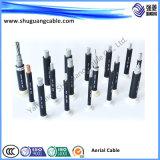 Изолированный PVC/XLPE средств кабель для воздушных линий Votlage