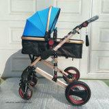 Sistema de deslocamento de alta paisagem com carrinho de bebé 3 em 1