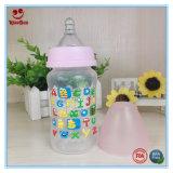 führende Flasche der Plastiksäuglingsmilch-8oz/10oz mit Drucken