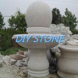 정원 조각품 돌 손전등 화강암 조각품