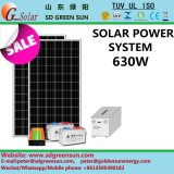 630W Stand Alone Sistema Solar para uso doméstico