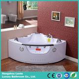 Montaje de la bañera de hidromasaje interior caliente con nuevos reposacabezas de estilo (CDT-003)