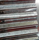0.45*1000mm 강철판이 주름을 잡은 강철 금속 기와에 의하여 직류 전기를 통했다