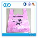PEの原料のTシャツのプラスチックショッピング・バッグ