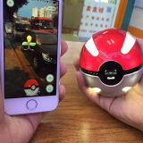 1000mAh Pokémon Go Ball Chargeur Power Bank Magic Ball