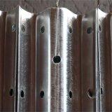 Aashto M180のセリウム証明書によって電流を通される上塗を施してあるWのビームハイウェイのガードレールの建築業者