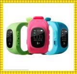 Resistente al agua caliente de la venta de Q50 Kids reloj GPS