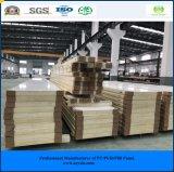 El panel rápido y fácil de la ISO del SGS de la construcción 150m m de la PU de emparedado