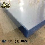 Radura/strato opachi/glassato/comitato/scheda del PVC delicatamente/rigido/per il piegamento, impaccare, piegante, stampa, pressa piegatrice della membrana di vuoto, Thermoforming, imballante in rullo