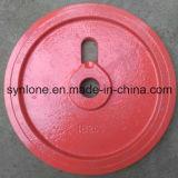 Peças da roda da roda de fundição de ferro com usinagem