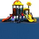 Escola utilizados equipamentos de playground de plástico no exterior para venda