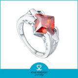 Gema encantadora anillo plata esterlina 925