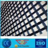 La Chine de l'asphalte en fibre de verre recouvert de géogrille grossiste fabricant