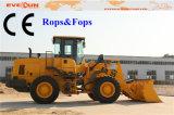 3,5 Ton Frente hidráulico Fin cargador Er35 con Rops y FOPS