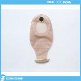 Saco de duas partes da colostomia da cor médica do chá para o hospital, corte máximo: 68mm