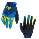 Перчатки Wear-Proof мотоцикла Blue&Yellow off-Road участвуя в гонке (MAG61)