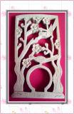 Tagliatrice di legno del laser dei mestieri del documento della partecipazione di nozze di prezzi di fabbrica dello Shandong