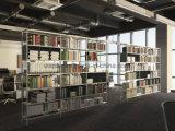Uispair Decorative Space Partititon Newspaper Magazine Rack Book Rack Bookshelf