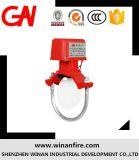 消火システムのための熱い販売の水流の探知器