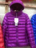 Luz da senhora casacos casaco para Portáteis para as mulheres, atacado casacos para baixo