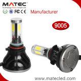 100% H1 impermeável H7 H11 9005 farol 100W do diodo emissor de luz 9006 H4