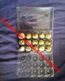 Cartuchos de ovos de plástico podem ser reciclado