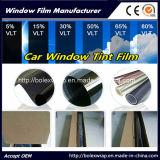 5%黒い1.5milのスクラッチ抵抗力がある2plys車の窓の色合いのフィルム、Windowsのフィルム、太陽Windowsのフィルム