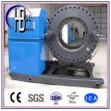 Ce stelt Plooiende Machine van de Slang van de gemakkelijk Grote Diameter de Hydraulische in werking