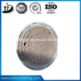 던지기 또는 단철 경첩을 달았거나 밀봉된 모래 주물 맨홀 뚜껑 (B125/C250/D400)