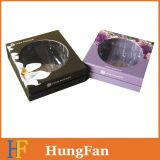 Custom косметической упаковки картонных подарочные коробки бумаги с крышкой