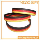 Wristband su ordinazione del silicone del Rainbow per i regali promozionali (YB-SW-10)
