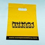 Sacchetto personalizzato della maniglia tagliato disegno per il sacchetto di plastica di acquisto
