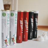 Bottiglia effervescente del ridurre in pani della vitamina E con la protezione a spirale