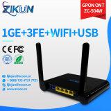 Zte F660 F600W Huawei Hg8245h를 위한 1ge+3fe+WiFi Gpon ONU