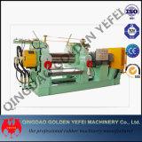 Abrir a máquina de borracha do moinho de mistura