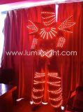 Il LED illumina in su i costumi, vestito del robot del LED, vestiti illuminati LED
