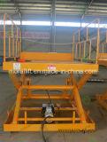 Stationnement hydraulique à quai à ciseaux hydrauliques avec CE