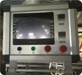 Полноавтоматическая непрерывная пленка протягивая машину упаковки вакуума сосиски