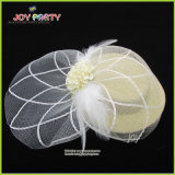 Mini Lady Hat com véu