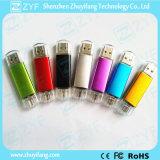 Привод вспышки USB логоса 16GB OTG различных цветов изготовленный на заказ (ZYF1600)