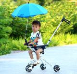 Los niños de China plegable triciclo del cochecito de tres ruedas de la bici del cochecito de niño