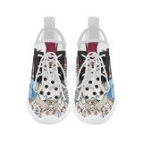 La fábrica Deisign de Dropshipping su propia sublimación de las zapatillas de deporte de la manera imprime los zapatos corrientes de encargo de Yeezy