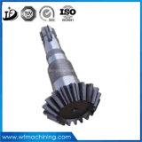 Personalizadas OEM 16mncr5/20mncr5/25mncr5/28mncr5 exquisito de mecanizado CNC del eje de engranajes rectos
