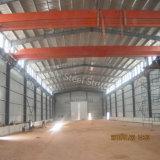 La estructura de acero rápido de la luz de la construcción de edificios de metal en Camerún