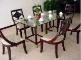 La mobilia moderna del ristorante/gli insiemi della mobilia del ristorante/mobilia dell'hotel/mobilia della sala da pranzo/mobilia di lusso pranzare imposta (GLD-022)